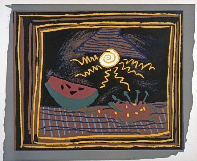 """Pablo Picasso, """"Nature morte à la pastèque,"""" 1962"""