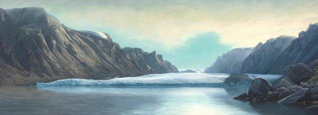 """CoryTrépanier, """"Great Glacier,"""" 2016"""