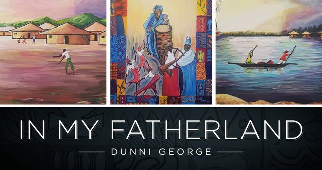 "Dunni George, ""In My Fatherland,"" 2019"