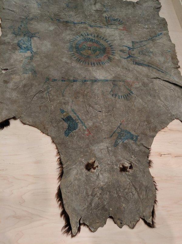 Tatanka Iyotake (Sitting Bull), Buffalo Robe, circa 1877-1881