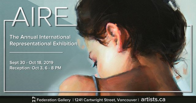 "Federation Gallery, ""AIRE exhibition,"" 2019"