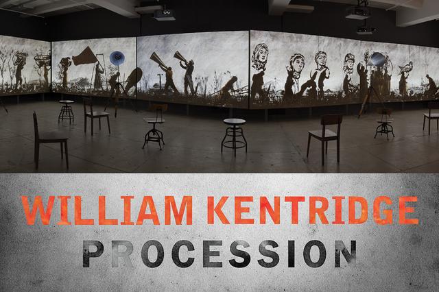 """William Kentridge, """"Procession,"""" 2019"""
