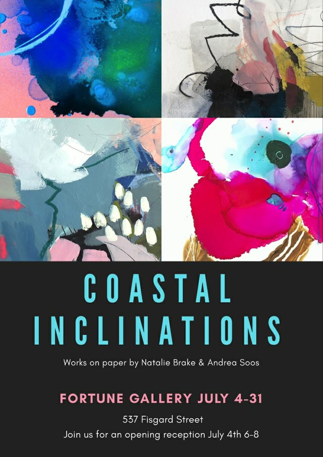 "Natalie Brake and Andrea Soos, ""Coastal Inclinations,"" 2019"