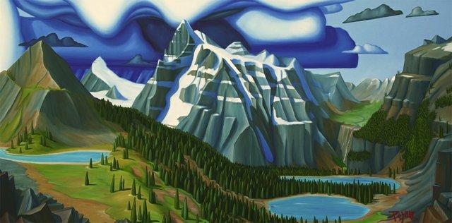 "Glenn Payan, ""Mt. Bryce,"" 2019"