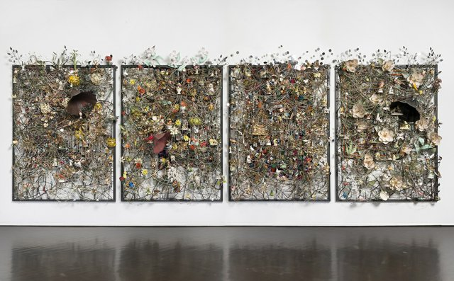 "Nick Cave, ""Wall Relief,"" 2013"