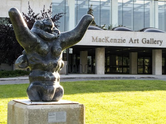 The MacKenzie Art Gallery in Regina recently introduced admission fees for visitors.