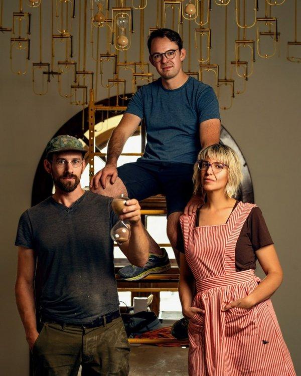 Lane Shordee, Wayne Garrett and Caitlind r.c. Brown (photo by Keith Carlsen)
