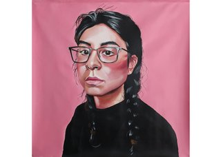 "Lauren Crazybull, ""Self-Portrait,"" 2019"