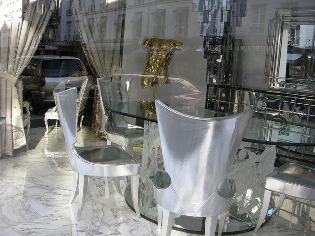 """Vikky Alexander, """"Paris Showrooms: Gold Torso,"""" 2009"""