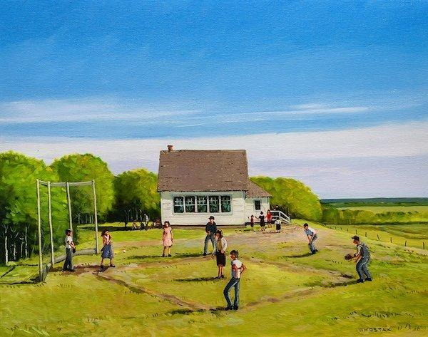 "Peter Shostak, ""Noon Hour Summer Games,"" 2019"