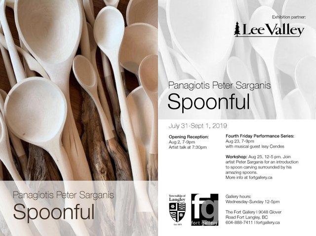 """Panagiotis Peter Sarganis, """"Spoonful,"""" 2019"""