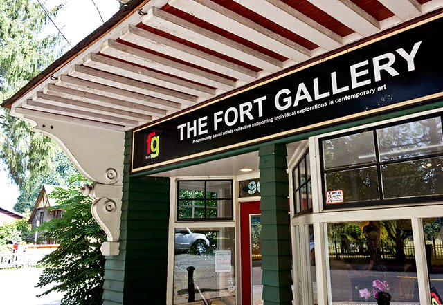 "Deb Colvin, ""The Fort Gallery, Fort Langley, BC,"""