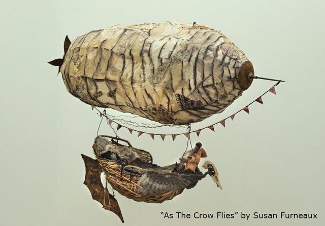 "Susan Furneaux, ""As the Crow Flies,"" 2019"