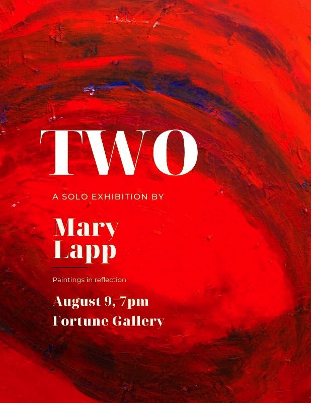 "Mary Lapp, ""Two,"" 2019"