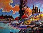 "John Burrow, ""Sugar Lake,"" 2008"