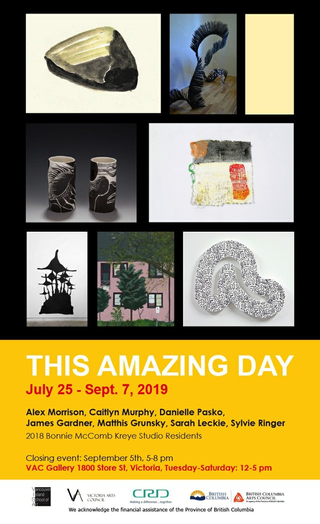 "Victoria Arts Council, ""This Amazing Day,"" 2019"