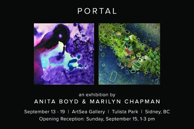 "Anita Boyd and Marilyn Chapman, ""Portal,"" 2019"