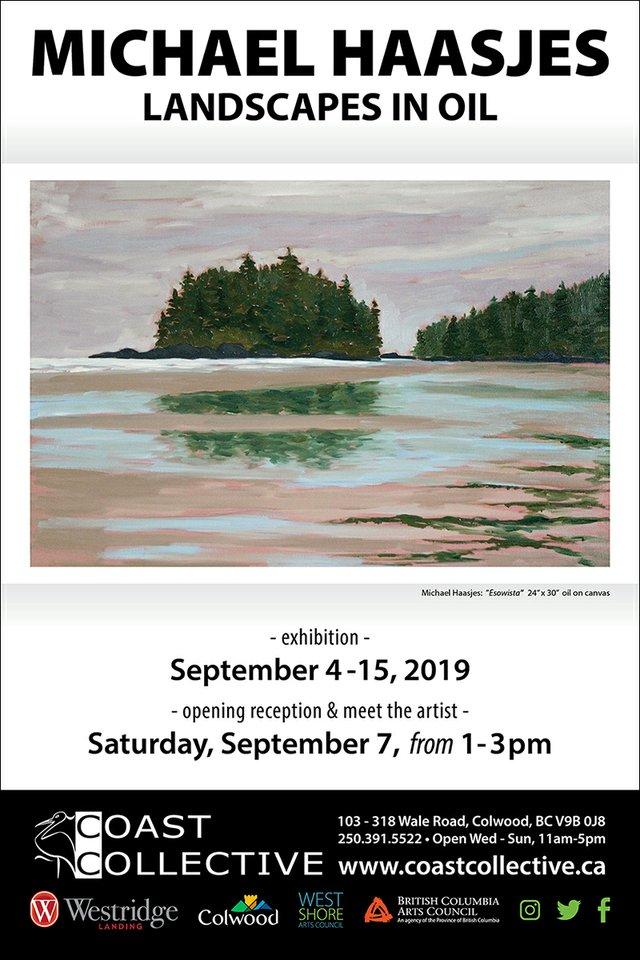 """Michael Haasjes, """"Landscape in Oil,"""" 2019"""