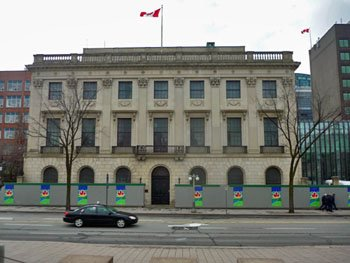 The former U.S. embassy across from Parliament Hill in Ottawa.