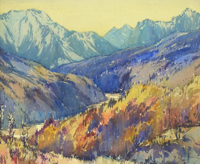 "A.C. Leighton, ""Sheep Creek,"" 1935"
