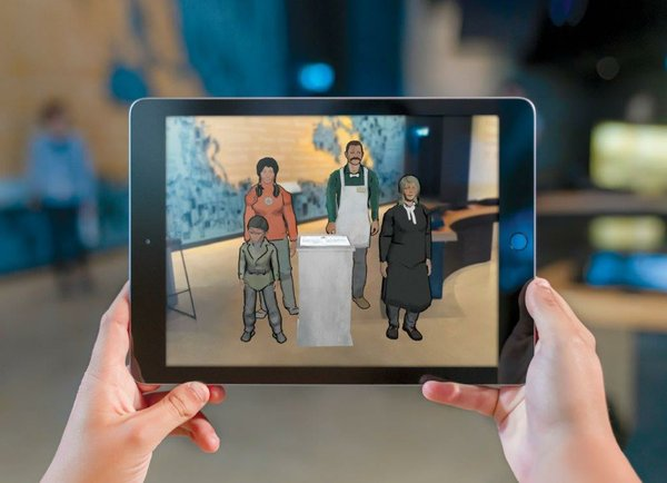 Augmented Reality Demo (photo by CMHR, Aaron Cohen)