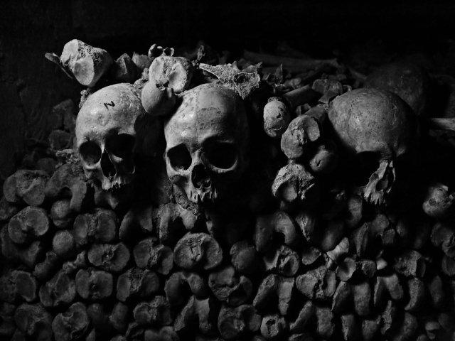 "Caprina Valentine, ""Catacombs,"" 2019"