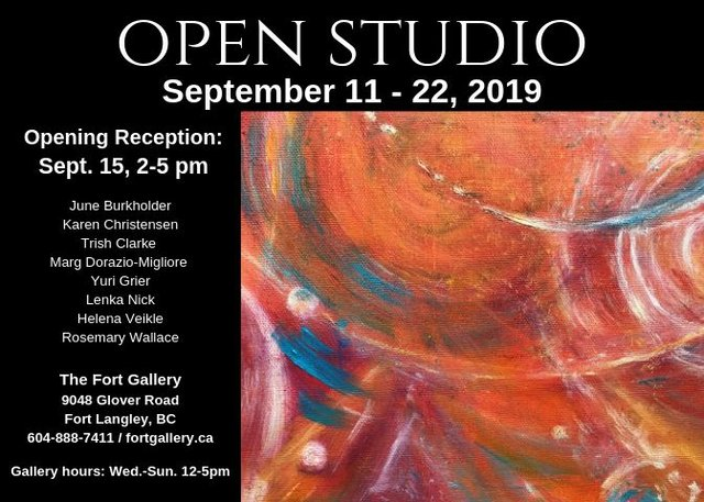 "Yuri Grier, ""Open Studio,"" 2019"