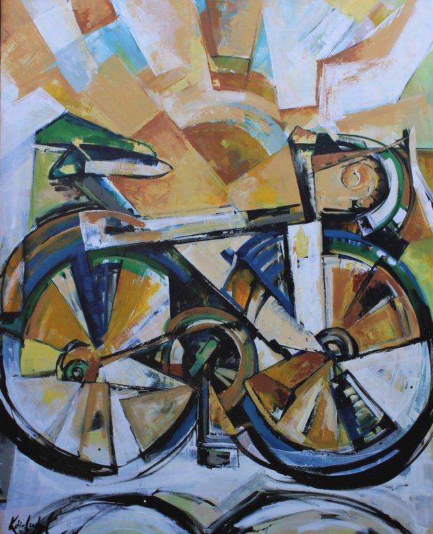 """Katie Leahul, """"The Bike,"""" 2019"""