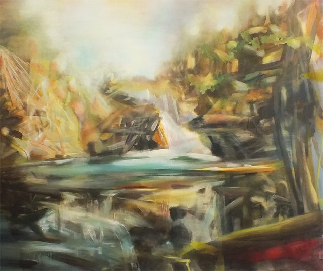 "Barbara Milne, ""Ambient Light Skoki,"" 2019"