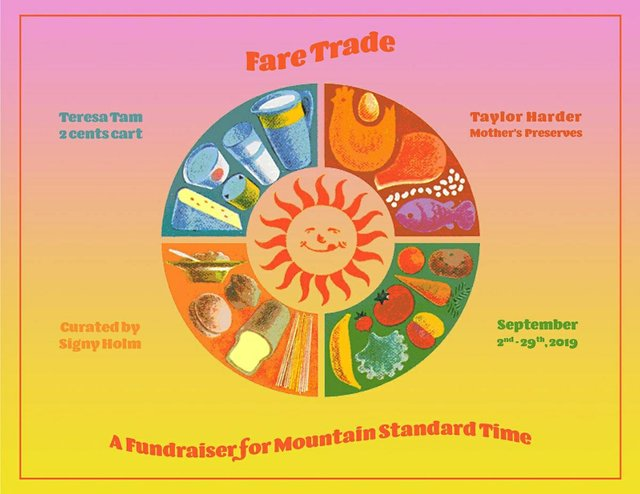 """Taylor Harder and Teresa Tam, """"Fare Trade - M:ST Fundraiser,"""""""