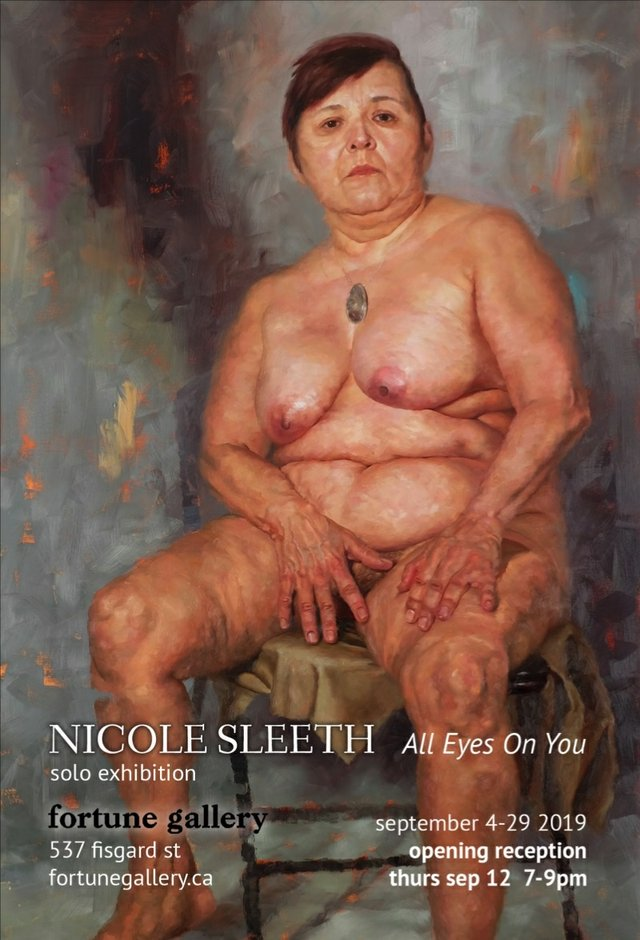 "Nicole Sleeth, ""All Eyes On You,"" 2019"