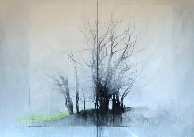 """Laurie Steen, """"Brightness of air, Landstill 12-14"""", 2019"""