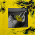 "Deb Fong and Kazia Poore, ""Hand Holding Lemon,"" 2018"