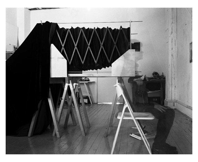 "Lynda Gammon, ""25 Minutes -- Meditation on the Studio Wall,"" 2018"