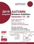 "ArtPoint, ""Autumn Members Exhibition,"" 2019"