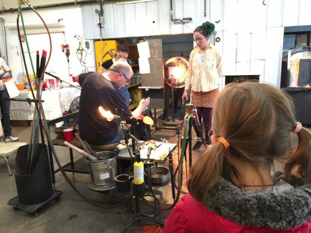 Firebrand Glass Studio (photo by Amanda MacKay)