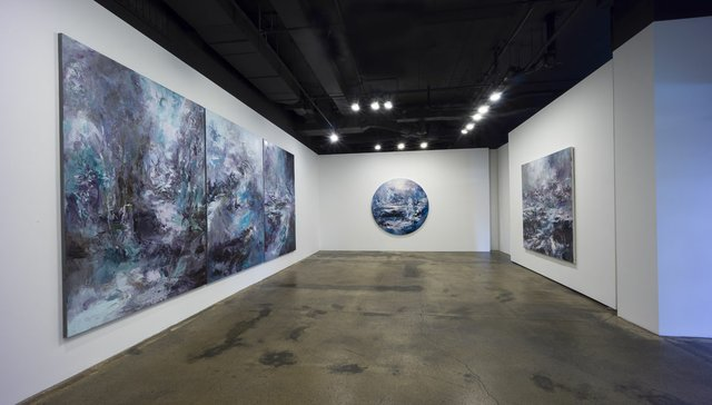 "Michael Smith, ""Illusion Horizon,"" 2019, installation view at TrépanierBaer Gallery, Calgary"