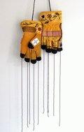 """Audie Murray, """"Rooting Gloves,"""" 2019"""