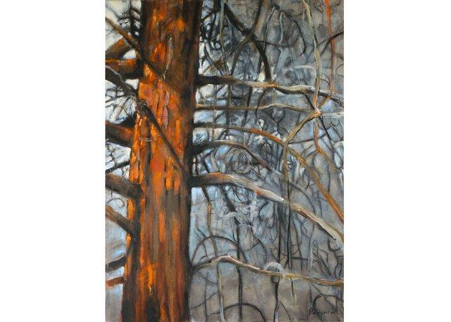 "Teresa Posyniak, ""Orange and Ash,"" 2019"