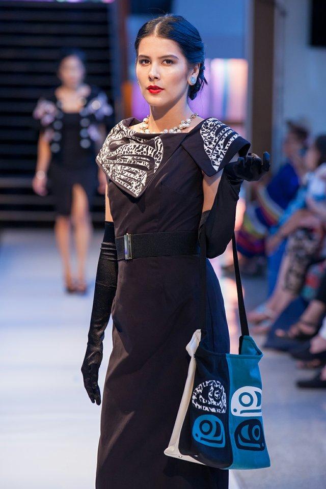 "Sugiit Lukxs Designs, ""Vancouver Indigenous Fashion Week,"" 2017"