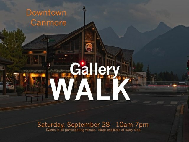 Celebrating Alberta Culture Days & Canmore's Gallery Walk, 2019