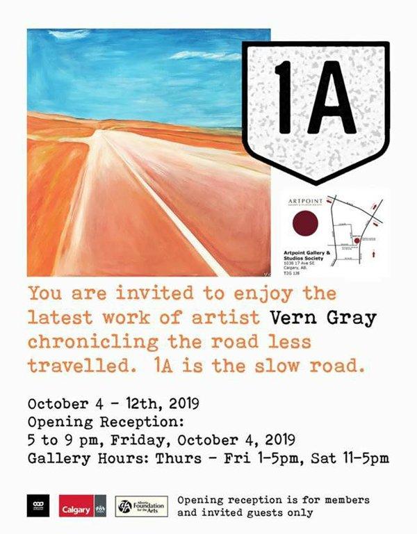 Vern Gray: 1A, 2019