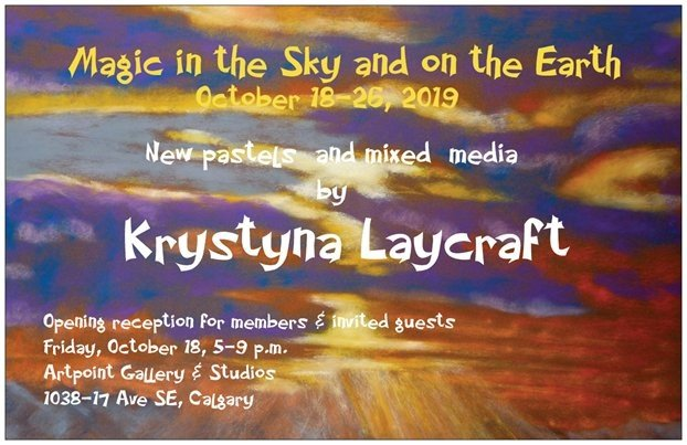 "Krystyna Laycraft, ""Magic in the Sky and on the Earth,"" 2019"