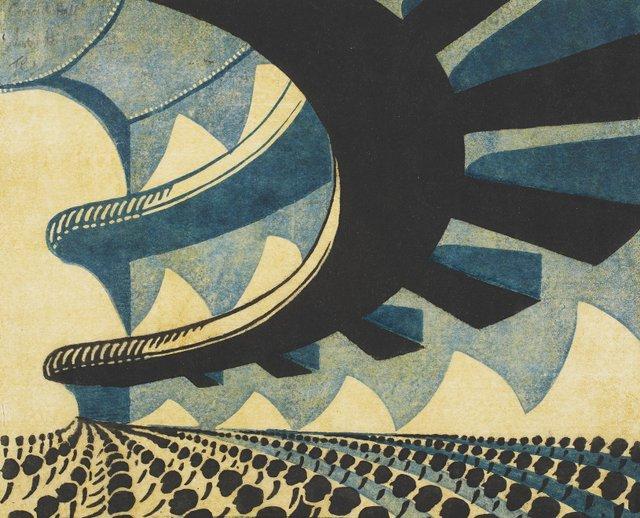 "Sybil Andrews, ""Concert Hall,"" 1929"