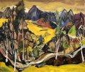 "David T. Alexander, ""Path to the Ridge,"" 2019"