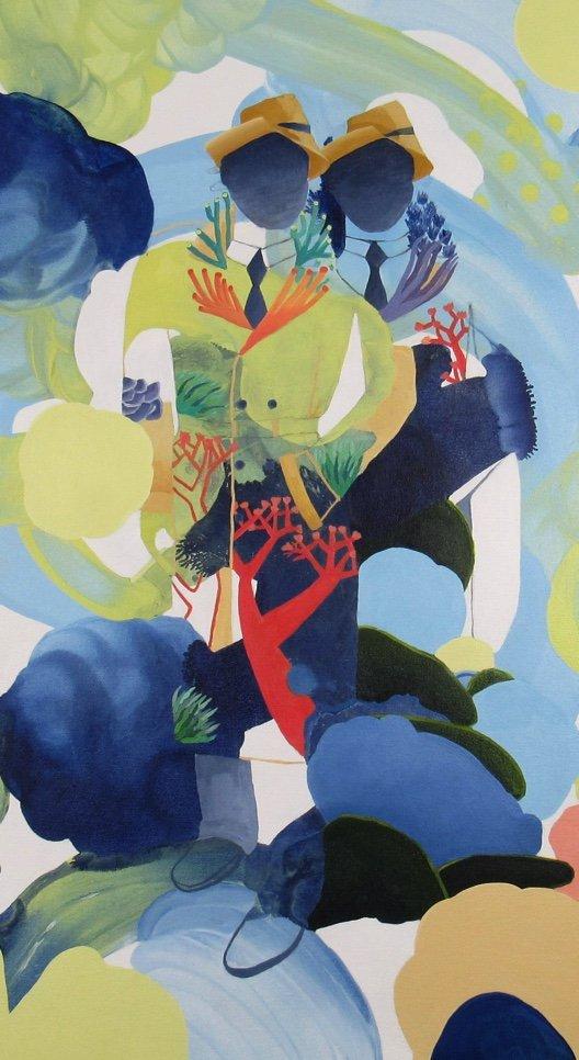 "Amber Lomax, ""Coral Masters,"" 2019"