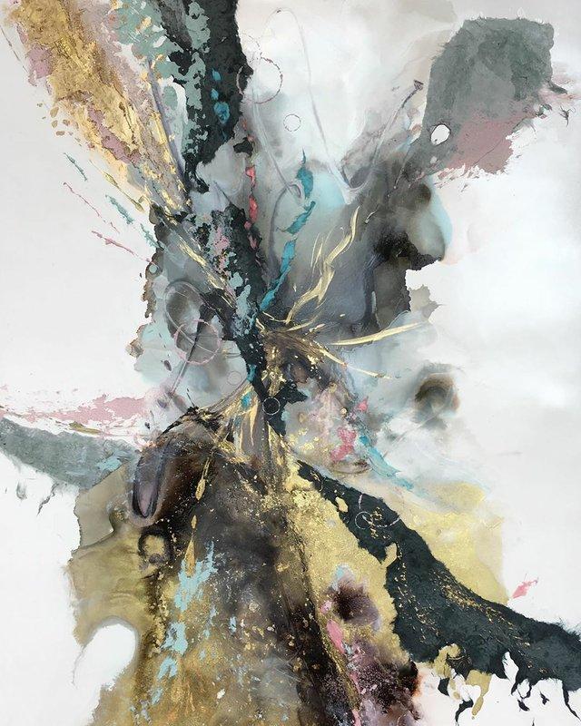 """Sandra Froher and Allison Brodie, """"Transmutation,"""" 2019"""