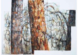 "Teresa Posyniak, ""Bark and Branches 1,"" 2019"