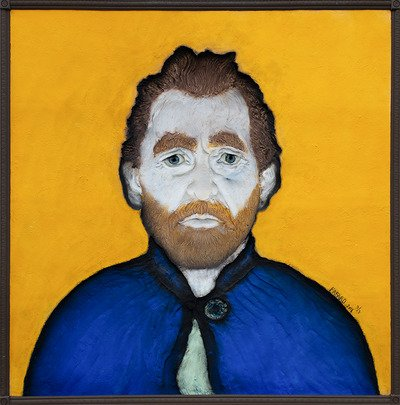 "Joe Fafard R.C.A., ""Van Gogh Observes,"" nd"
