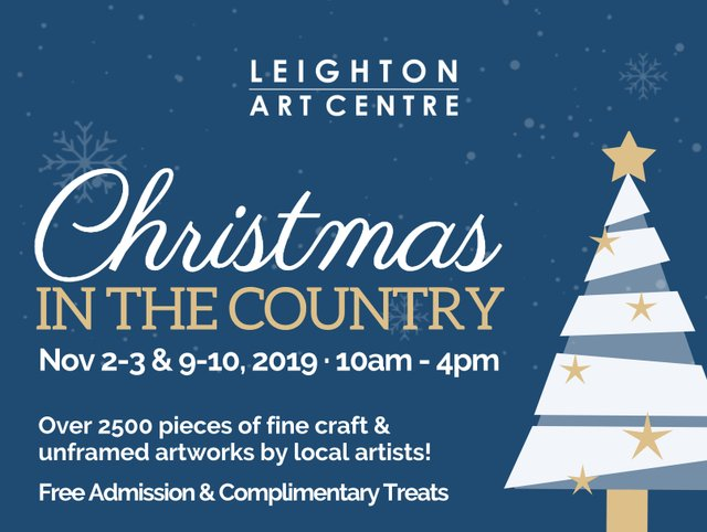 "Leighton Art Centre, ""Christmas in the Country,"" 2019"